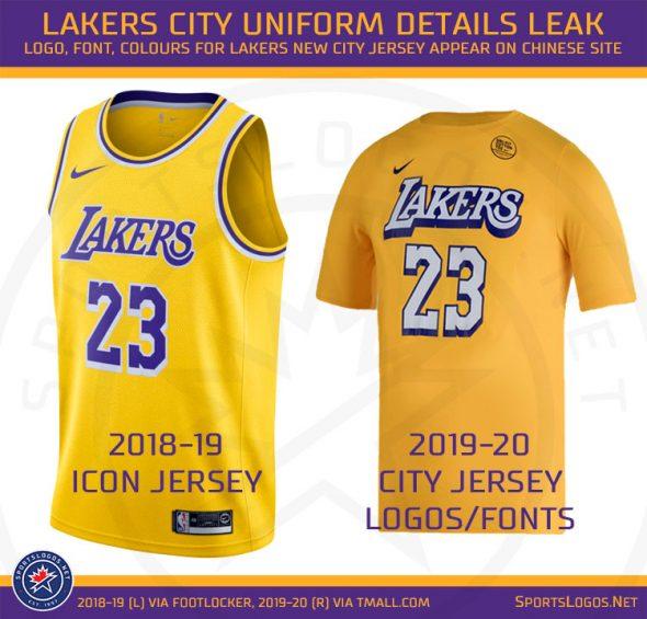 Los Angeles Lakers New City Uniform Details Leaked | Chris ...