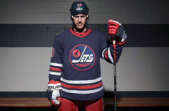 "Winnipeg Jets Make ""Heritage"" Look Their New Third Uniform"