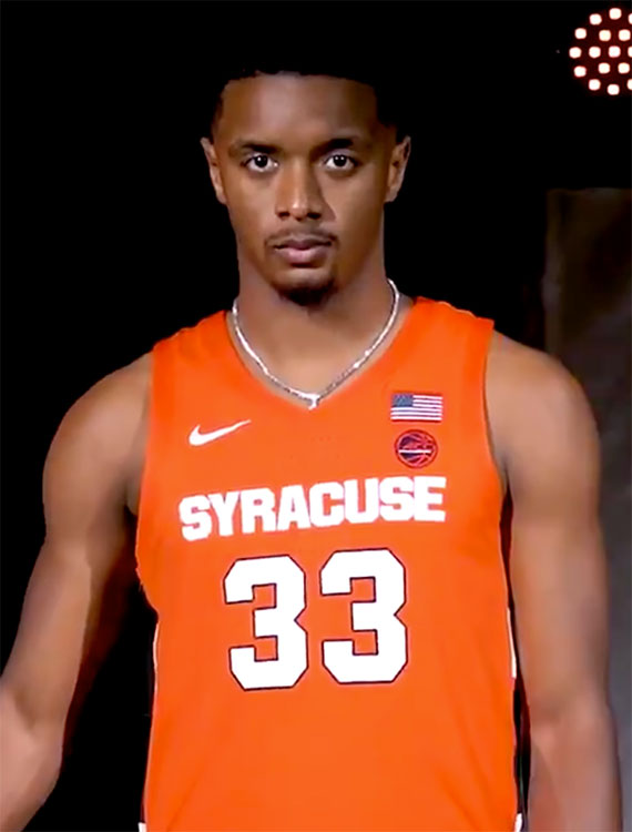 Syracuse Orange Unveil New Basketball Uniforms Chris
