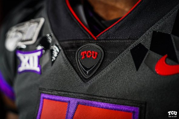 Horned Unveil Alternate Blood TCU Uniforms Frogs Red With