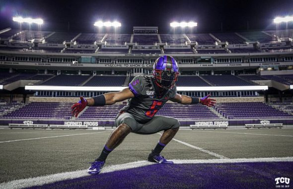 TCU With Frogs Red Uniforms Unveil Horned Blood  Alternate