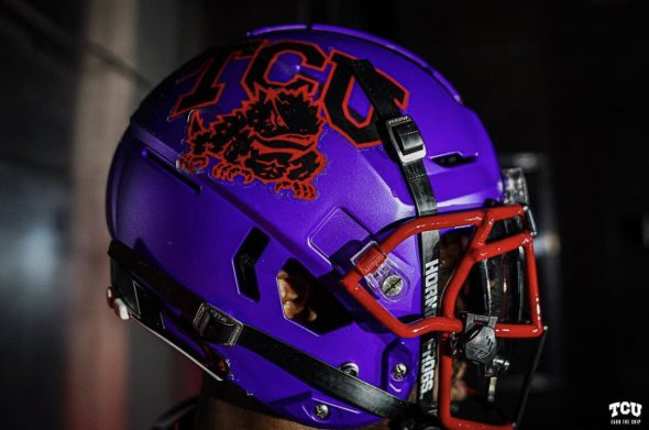With TCU Horned Blood  Red Alternate Unveil Frogs Uniforms