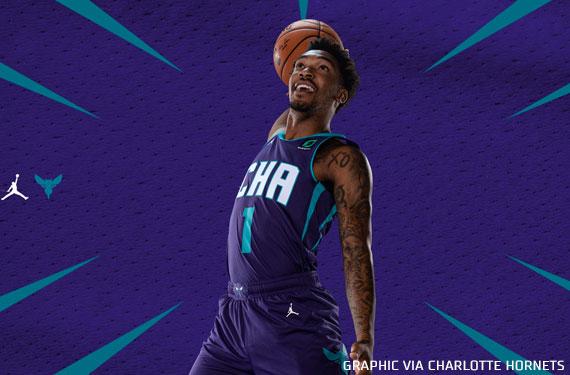 Hornets Unveil New Purple Statement Uniform