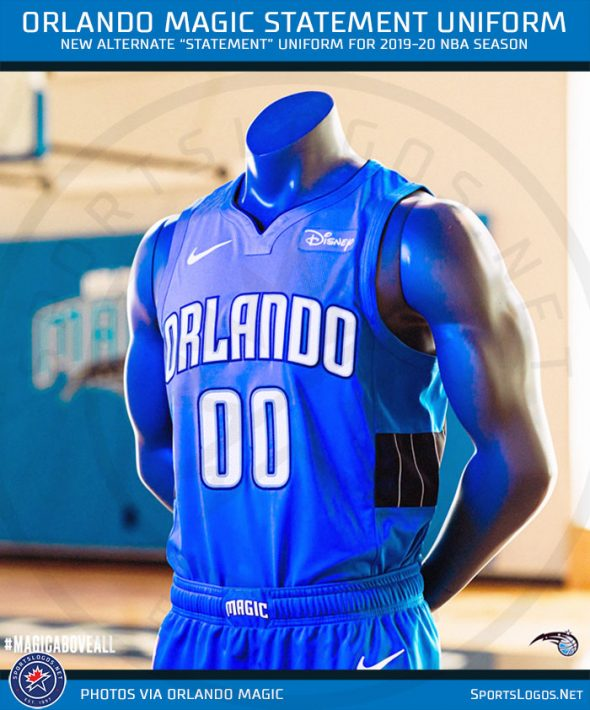 Orlando Magic Unveil New Blue Statement Uniform - Chris Creamer's SportsLogos.Net News and Blog ...