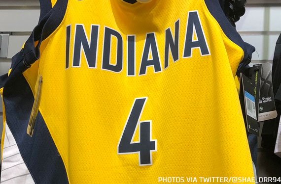 """Leaked: Indiana Pacers New """"Statement"""" Uniform"""