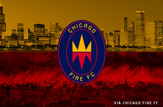 MLS Chicago Fire FC Reveal Disappointing New Logo