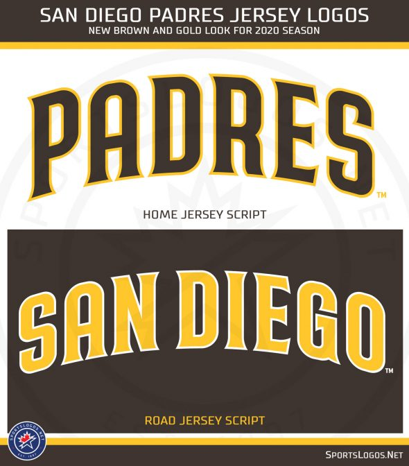 San Diego Padres unveil new uniforms with brown and gold color scheme