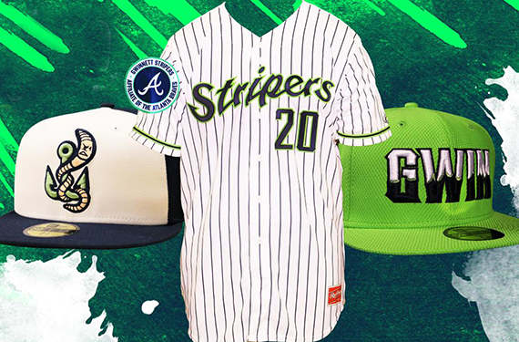 Gwinnett Stripers update caps, uniforms