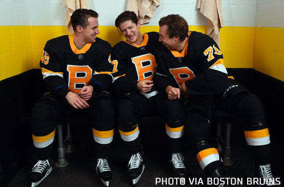 Boston Bruins Unveil New Third Jersey, Debuts Friday