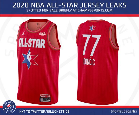 Leaked: 2020 NBA All Star Jerseys | Chris Creamer's
