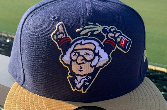 Harrisburg Senators unveil boisterous George Washington logo