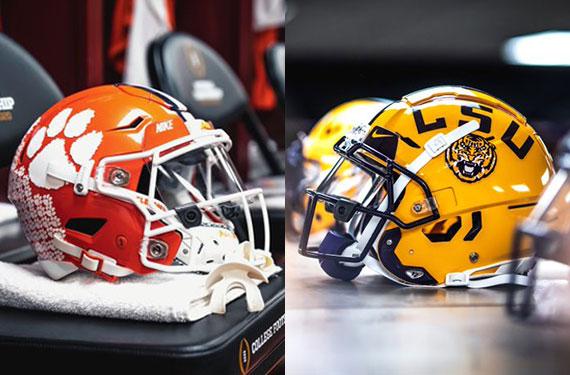 College Football Playoff National Championship Uniform History Sportslogos Net News