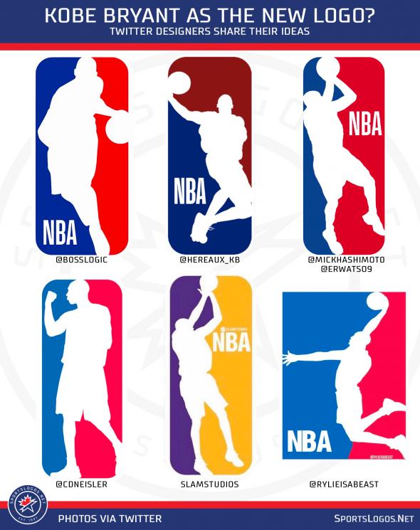 Kobe Bryant Fans Petition To Change Nba Logo To Honour Lakers