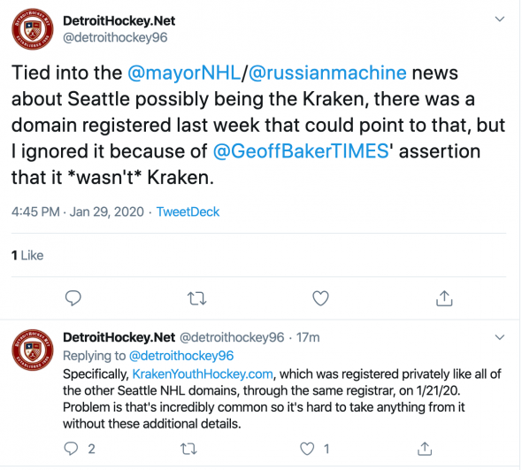 In Seattle, a Little Controversy Over NHL Team Name