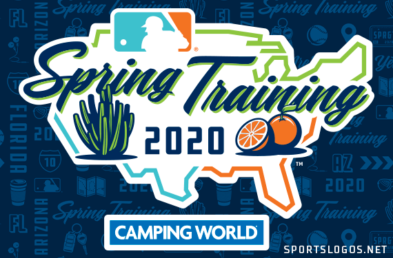 2020 Spring Training New Team Uniforms, Patches, and Logos
