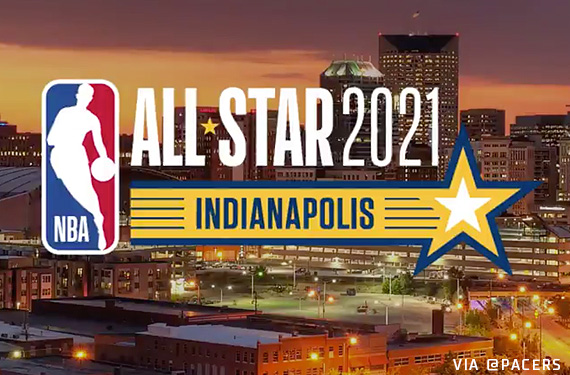 First Look at 2021 NBA All-Star Game Logo in Indiana