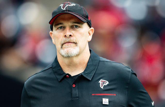 Atlanta Falcons Head Coach Dan Quinn Discusses New Uniforms