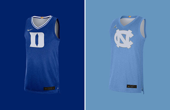 Duke, North Carolina Unveil Alternate Uniforms To Commemorate 100th Year Of Rivalry