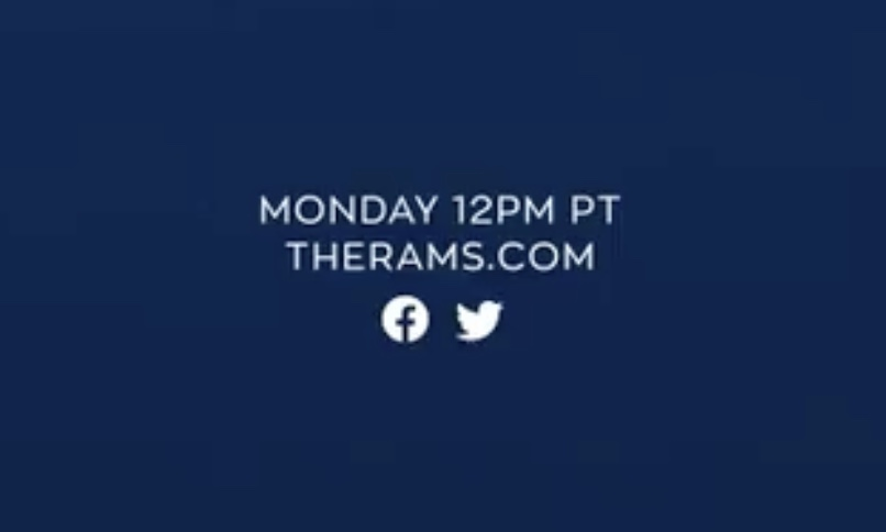 Los Angeles Rams To Unveil New Logo, Color Scheme On March 23