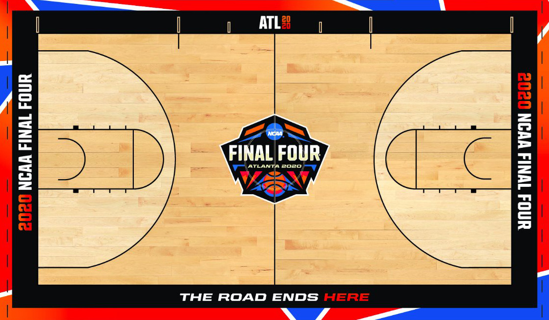 Unused 2020 NCAA Men's Final Four Court Revealed
