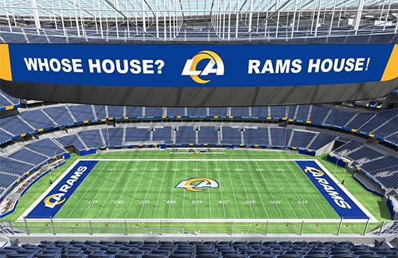 Los Angeles Rams Creative Team Discusses New Logos, Color Scheme