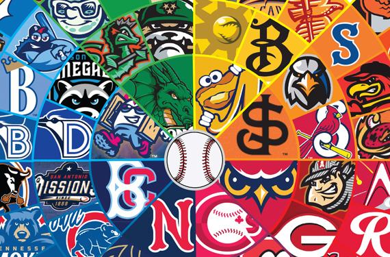 Presenting the 2020 Minor League Baseball Logo Colour Wheel