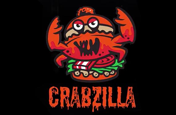 Pensacola Blue Wahoos unveil Crabzilla sandwich logo