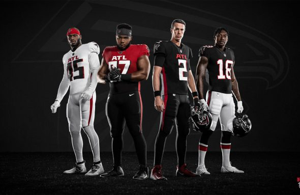 Buccaneers and Falcons reveal new uniforms ahead of the Browns