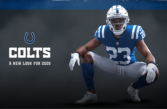 Indianapolis Colts debut new looks and logos