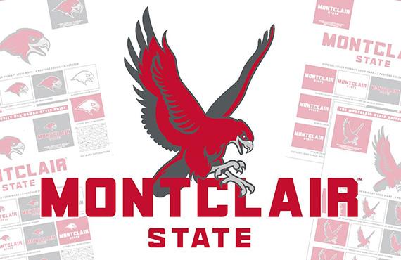 Montclair State Red Hawks Unveil Refreshed Logo Set, New Wordmark