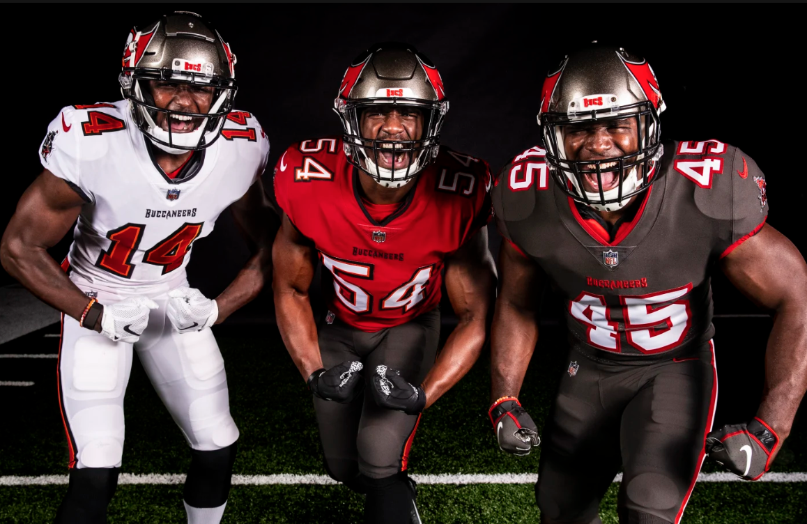 Tampa Bay Buccaneers Unveil New Uniforms