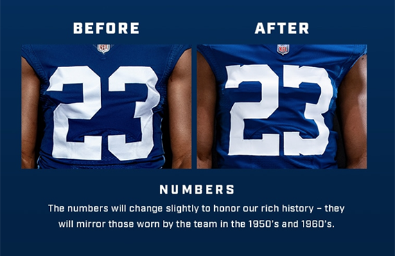 Colts honor past, home state with tweaked uniform, secondary logo