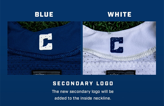 Colts tweak uniforms, using state outline for first time, new fonts
