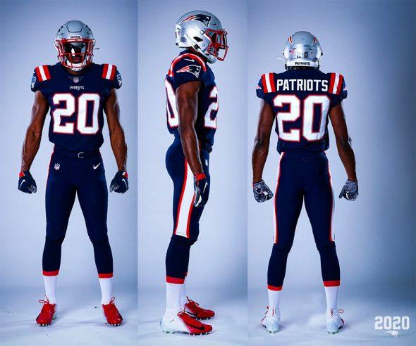 New England Patriots Unveil New Uniforms for 2020 | Chris ...