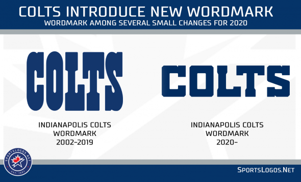Colts unveil small tweaks to uniforms, new alternate logo and wordmark