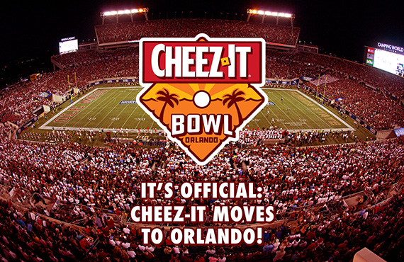 Cheez-It To Replace Camping World As Sponsor Of Orlando Bowl Game