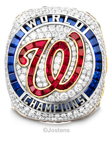 Fight Finished: Nationals Unveil 2019 World Series Rings