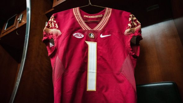 Florida State Seminoles Unveil Updated Home Jerseys With White Numbers Sportslogos Net News