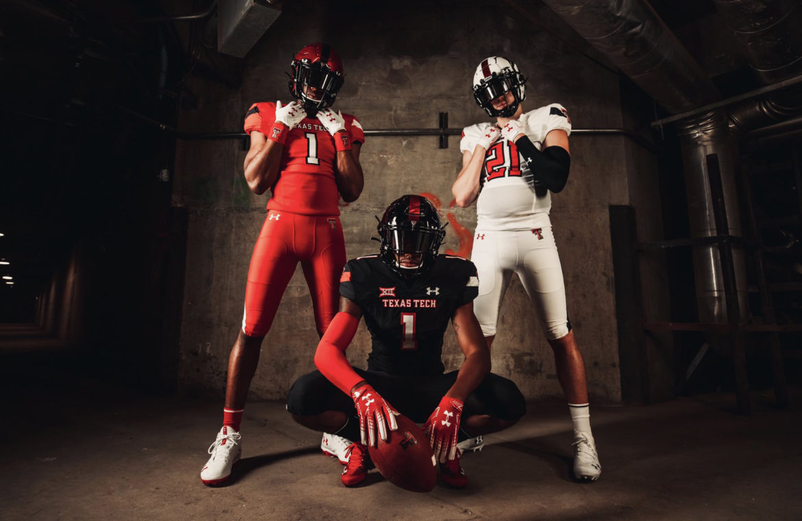 Texas Tech Red Raiders Unveil New Uniforms
