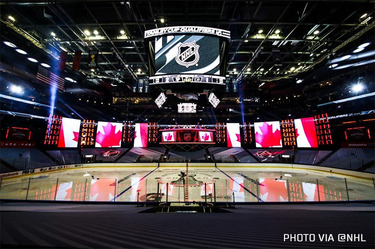 Pics: NHL Hub City Ice Designs, Rink Layouts