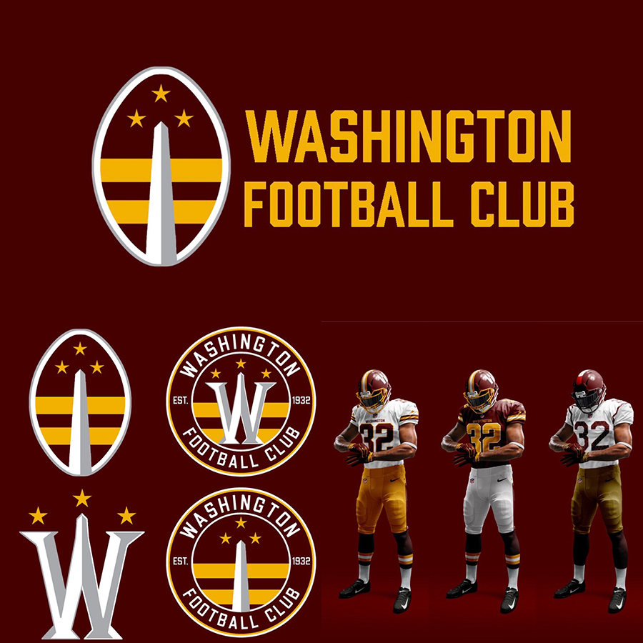 Vote Washington Football Team Rebrand Contest Sportslogos Net News