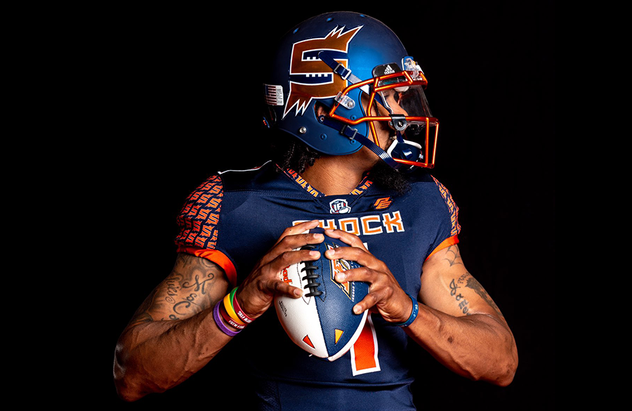 Indoor Football League's Spokane Shock Unveil New Uniforms