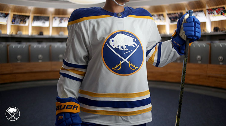 Buffalo Sabres Return to Royal, Unveil New Logo and Uniforms ...