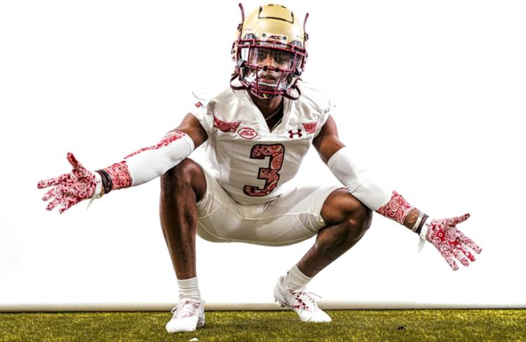 Boston College Eagles Reveal New Red Bandana Alternate Uniforms ...