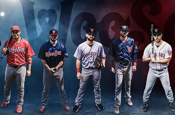 WooSox unveil extensive uniform set