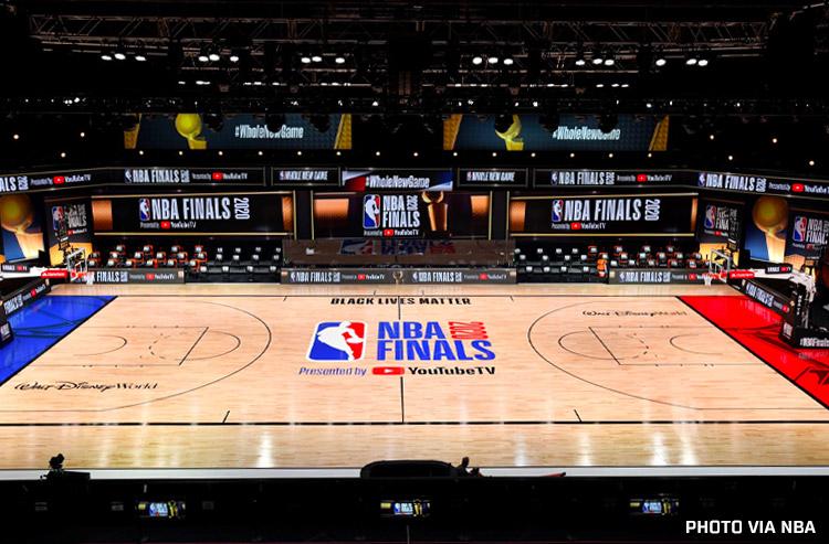 NBA Reveals Court Design for 2020 NBA Finals