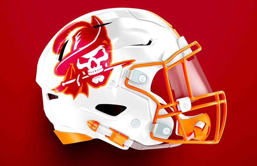 Torch Creative Rebrands The Tampa Bay Buccaneers