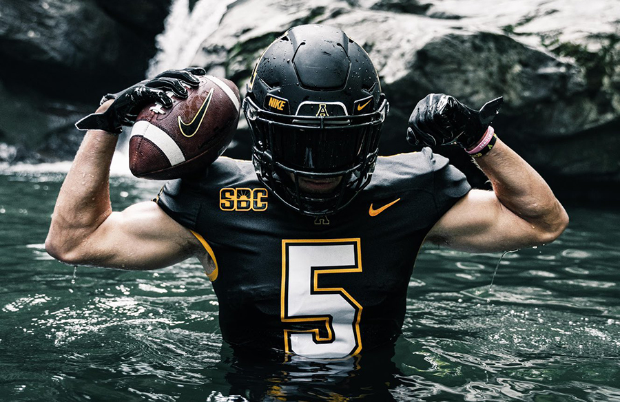 Appalachian State Mountaineers Unveil New Home Uniforms