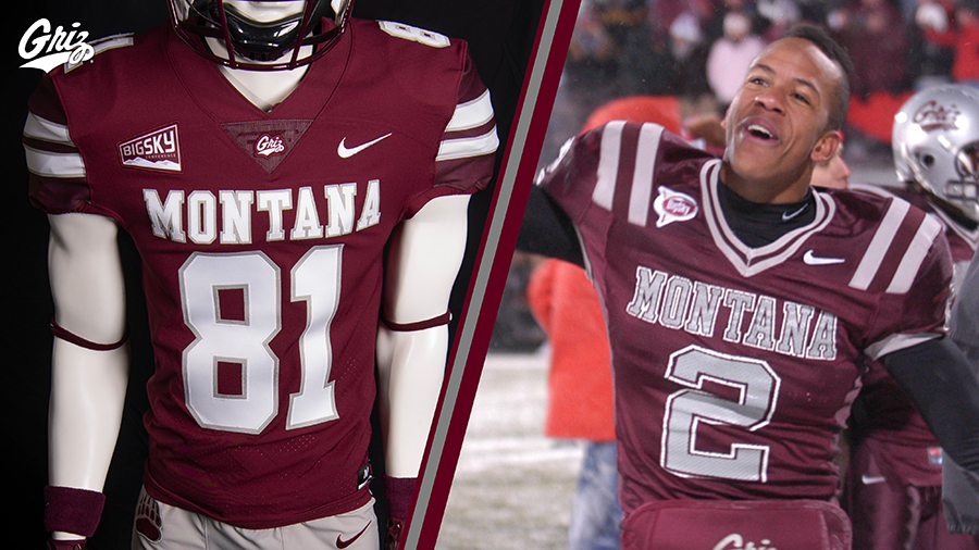 Montana Grizzlies Reveal New Football Uniforms