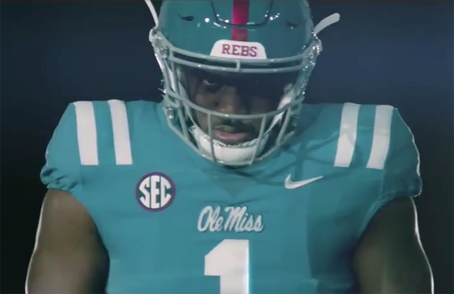Ole Miss Rebels Unveil New Powder Blue Jerseys